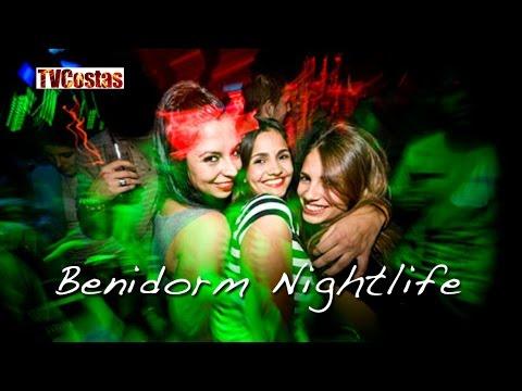 Benidorm Nightlife Costa Blanca Spain (Tour)