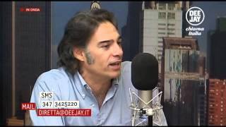 Roberto Parodi intervistato da Linus e Nicola Savino (DeeJay Chiama Italia)