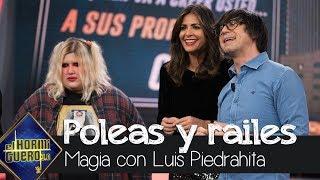 Luis Piedrahita con poleas, raíles y vagonetas - El Hormiguero 3.0