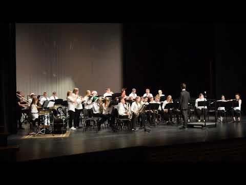 Elida Middle School Jazz Band Holiday 2018