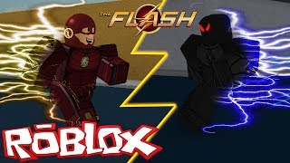 DER FLASH VS ZOOM IN ROBLOX (Roblox Der Blitz)