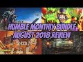 Humble Monthly Bundle   August 2018 Review