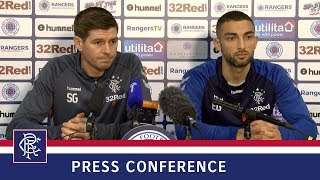 PRESS CONFERENCE | Steven Gerrard & Eros Grezda | 9 Nov 2018