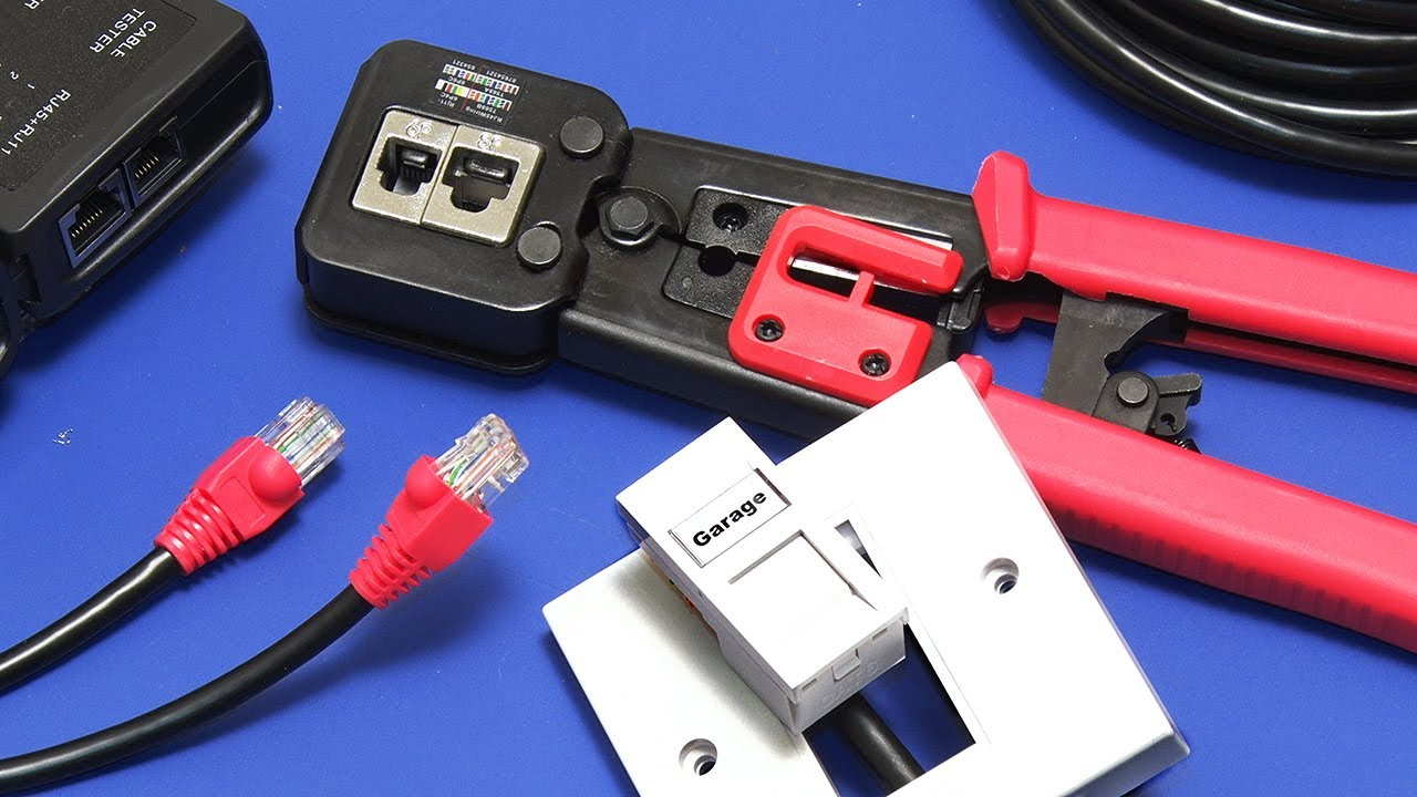Wiring Ethernet Extensions: How to Fit Sockets & Make Patch Leads