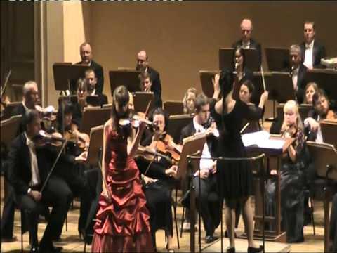 Boglárka Erdös age 14 plays Carmen Fantasy by Sarasate