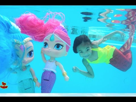 Shimmer and Shine Magical Mermaids!