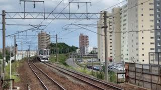 785系特急すずらん 新札幌駅入線