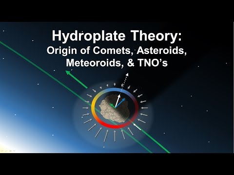 Hydroplate Theory:  Origin of Comets, Asteroids, Meteoroids, and Trans-Neptunian Objects