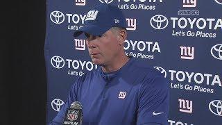 Pat Shurmur Very Pleased With Giants Performance vs. Texans