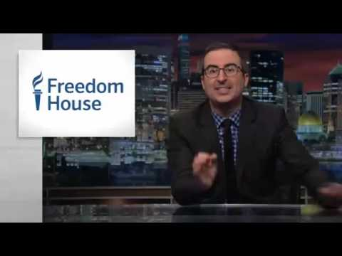 Tibet's Freedom in the World score: Freedom House Mentioned on Last Week Tonight with John Oliver