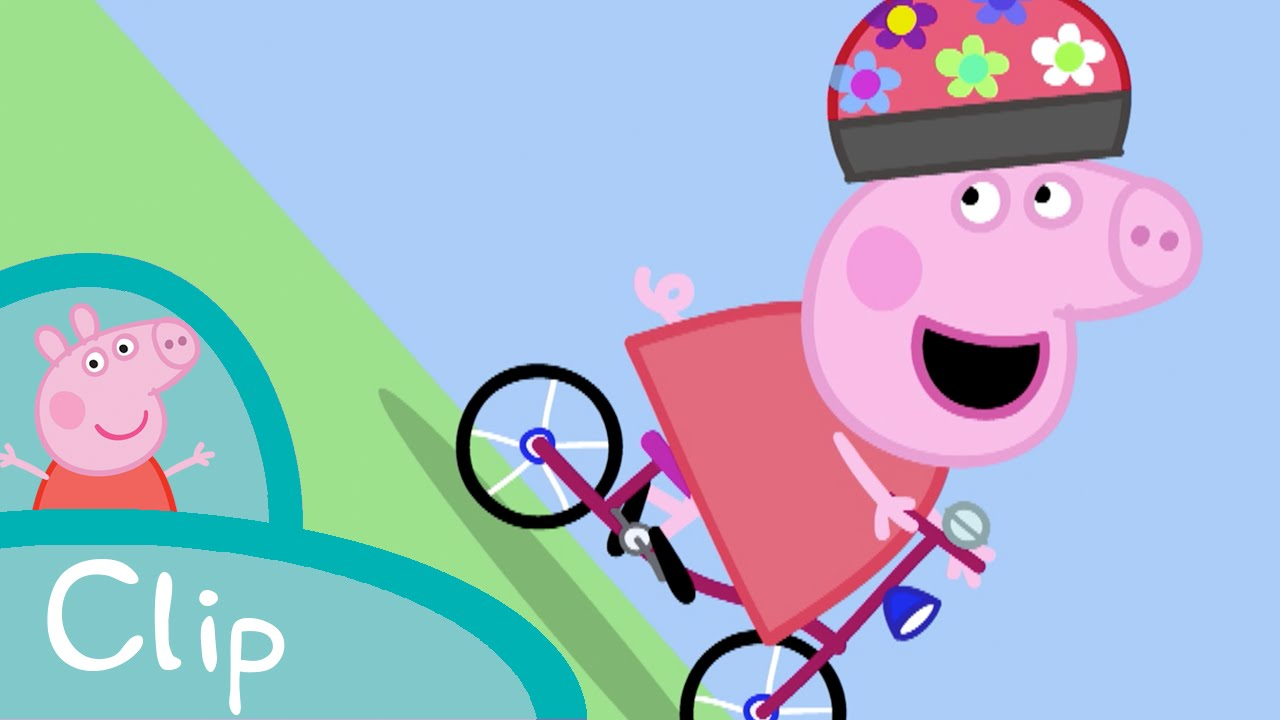 Peppa Pig Episodes Bicycle Race Clip Cartoons For Children