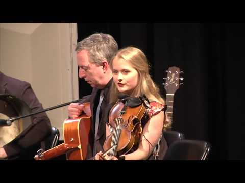 All-Ireland Champion fiddler Haley Richardson performs with The Hudson-Shannon Line Ensemble