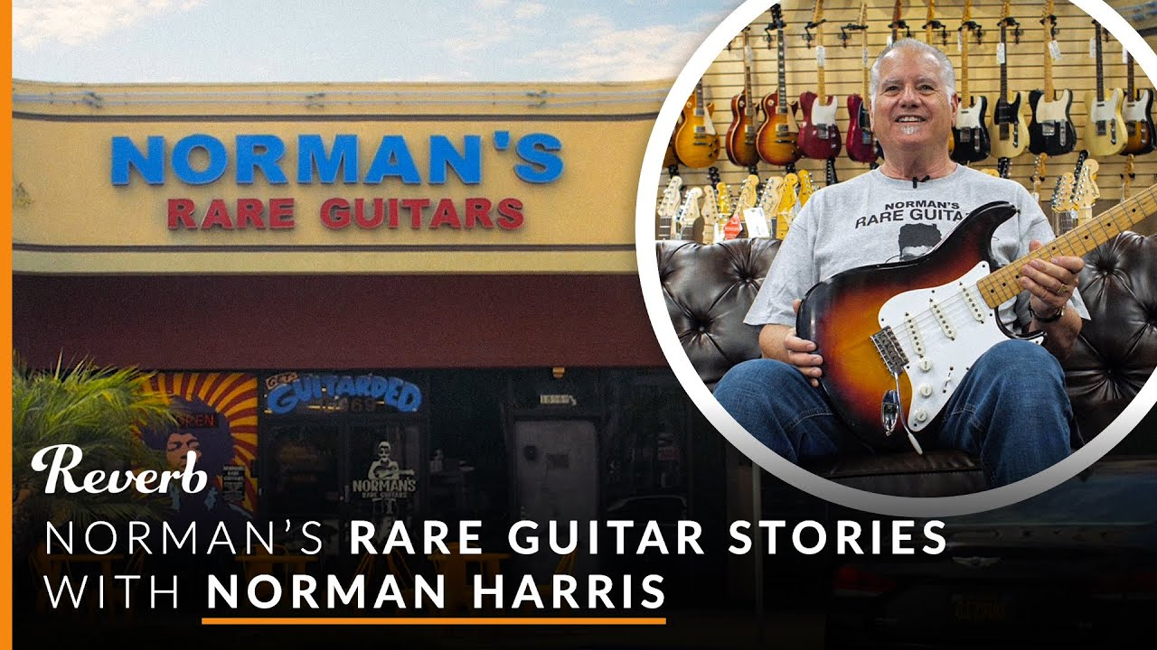Norman's Rare Guitars starts selling instruments on Reverb