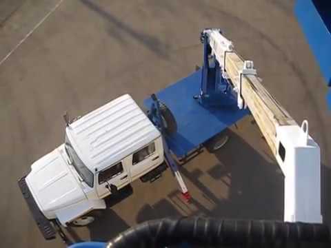 Автовышка телескопическая ГАЗ-3309 18 метров (кабина 5 мест)