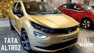 2020 Tata Altroz XZ Premium Hatchback Full Detailed Review - Latest Features, Premium Interiors