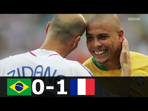 🔥 Франция - Бразилия 1-0 - Обзор Матча Четвертьфинал Чемпионата Мира 01/07/2006 HD 🔥