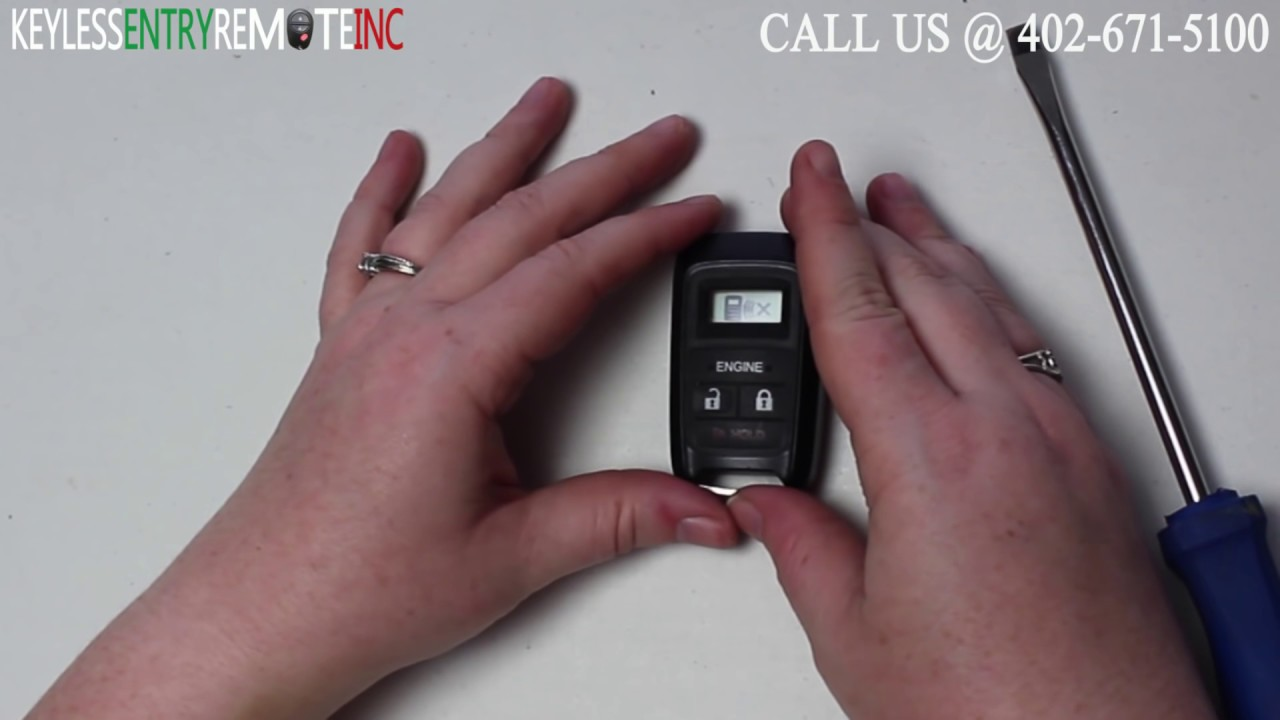 How To Replace Honda Odyssey Key Fob Battery 2017 Part Kobata12a