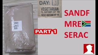 South African Ration Review: SANDF 24H MRE Menu 3 Part 1 of 2