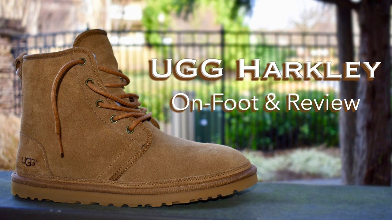be4859d1cb2 UGGs For Men | Harkley | On-Foot & Review