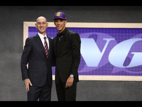 Lonzo Ball Drafted 2nd Overall By Los Angeles Lakers In…
