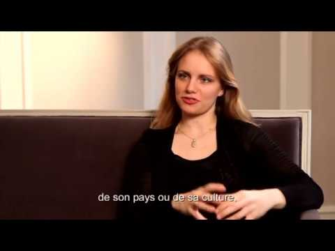 "Interview with Julia Fischer on ""Poème"" (French subtitles)"