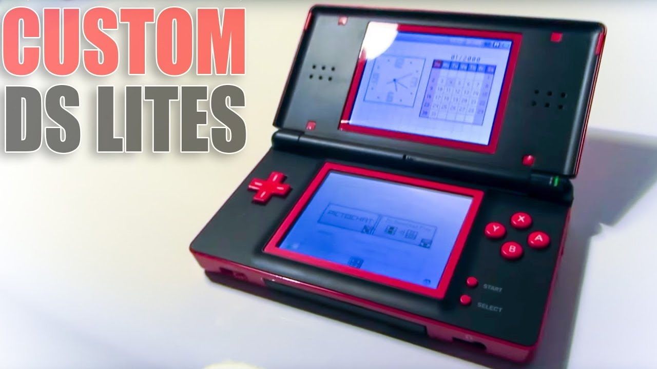 Making Custom Nintendo Ds Lite Consoles From Broken Ones On Ebay