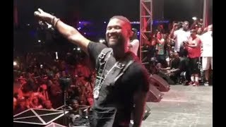 Usher Proves He Didn't Fall Off Dances Like Chris Brown At One Music Festival
