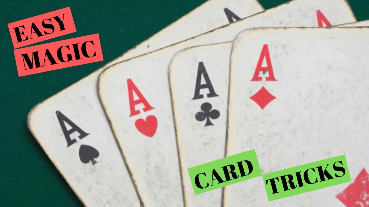 best card magic tricks learn simple card tricks  youtube