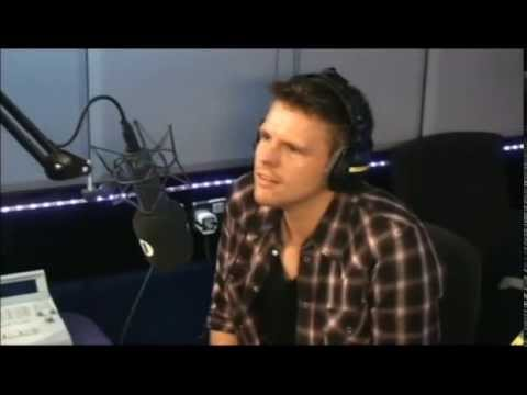 Jake Humphrey's last interview on the Chris Moyles Show