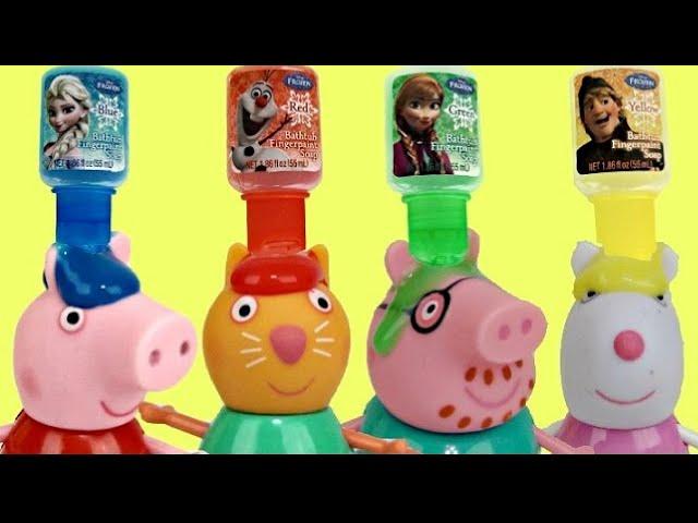Peppa Pig BATH PAINT Fun Toy Surprises & Bubbles | Toys Unlimited #1