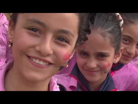 Humanitarian Aid in Aleppo School