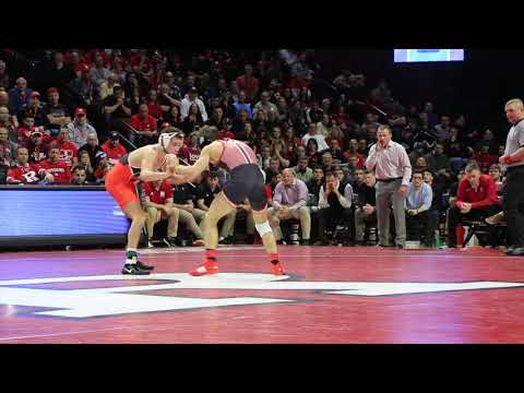 Donny Pritzlaff Mic'd Up For Nick Suriano's Tech Fall Against Princeton