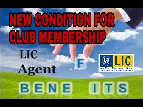 NEW CONDITIONS FOR L.I.C. CLUB MEMBERSHIP 2018-19