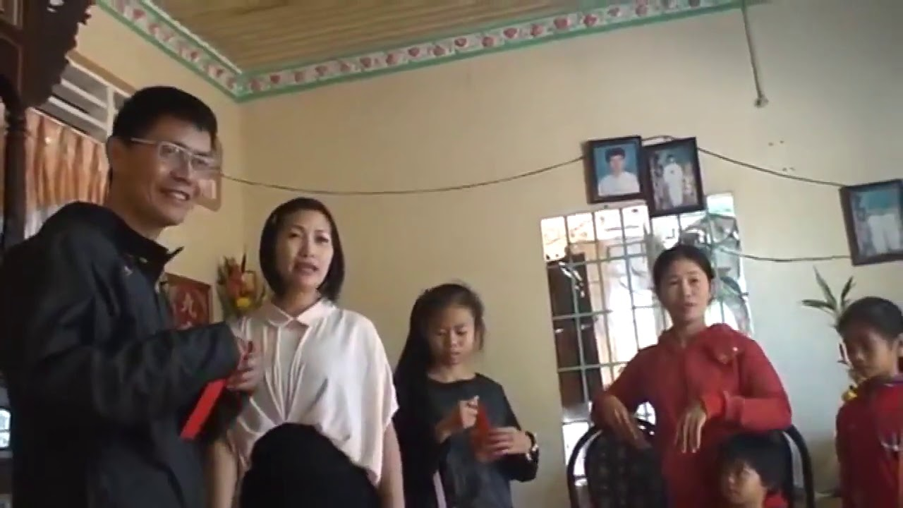 越南農曆過年拜年發壓歲錢