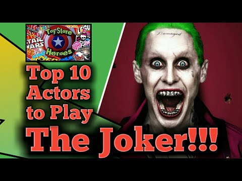 10 Actors Who Should Play The Joker In Scorsese