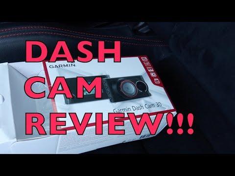 Garmin Dash Cam 30 - REVIEW!!!