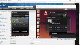2 Elastix Configuración PBX  llamadas entre extensiones con Zoiper Softphone