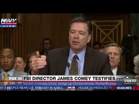 WOW: Comey Answers WHY He Announced Hillary Clinton Email Investigation 11 Days Before Election FNN