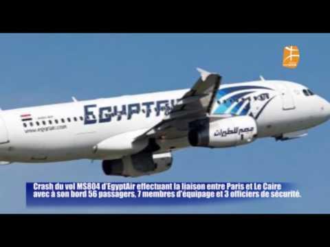 Extrait du JT de Berbère Télévision : EN DIRECT Crash du vol EgyptAir :