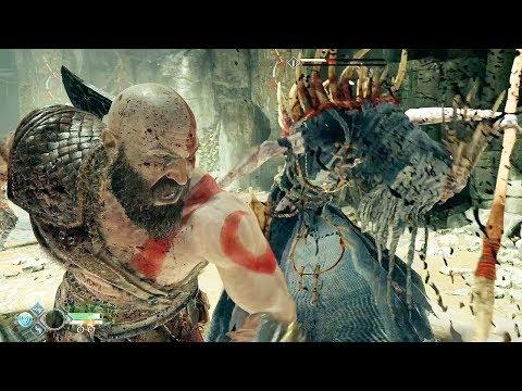 GOD OF WAR (PS4) - New Combat System @ 1080p HD ✔