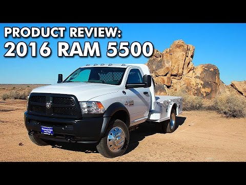 Product Review 2016 Ram 5500 Tradesman