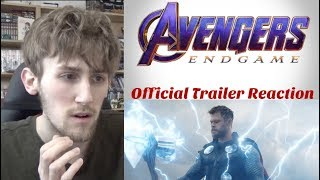 Avengers: Endgame Official Trailer Reaction