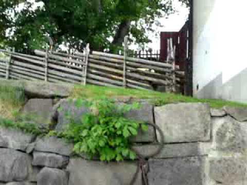Norrköping, Sweden, Industrial landscape, Motala river