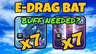 DO ELECTRO DRAGONS NEED A BUFF? EDRAG BAT SPELL ATTACK TH11! COC | CLASH OF CLANS | STRATEGY