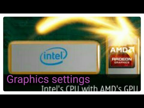 Part 1#Switchable Graphics Settings INTEL to AMD or NVIDIA or other Deticated graphics settings