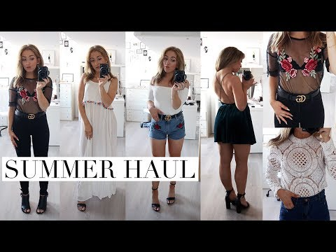 SUMMER CLOTHING TRY ON HAUL 2017 | Missguided, SheIn & Romwe