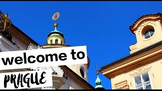 PRAGUE FIRST IMPRESSIONS: TRAVEL VLOG