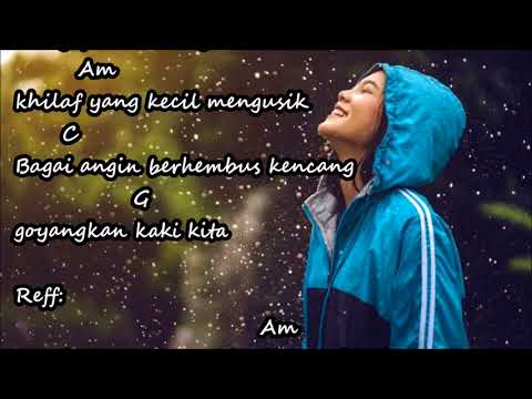 Dengar Bisikku The Rain chord lirik