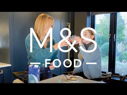 Amanda Holden tasting the new M&S Food vegan range   M&S FOOD