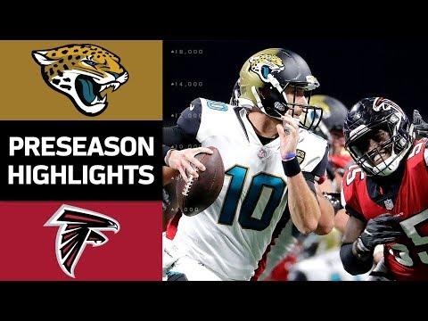 Jaguars vs. Falcons   NFL Preseason Week 4 Game Highlights